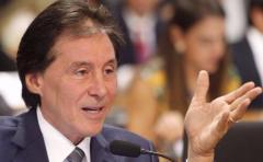 Internan al presidente del Senado de Brasil