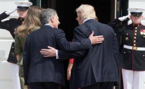 """Trump sobre Macri: es """"un gran líder"""""""