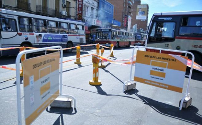 Cortes y desvíos de tránsito este domingo