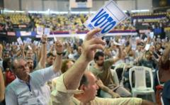 Posición sobre Venezuela y EE.UU se coló en congreso del FA