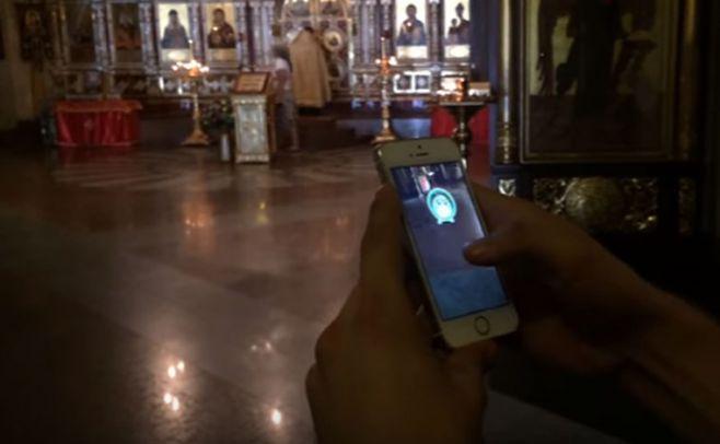 Condenaron a un youtuber ruso por jugar Pokémon Go en una iglesia