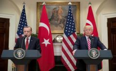 Trump recibió al presidente turco en la Casa Blanca
