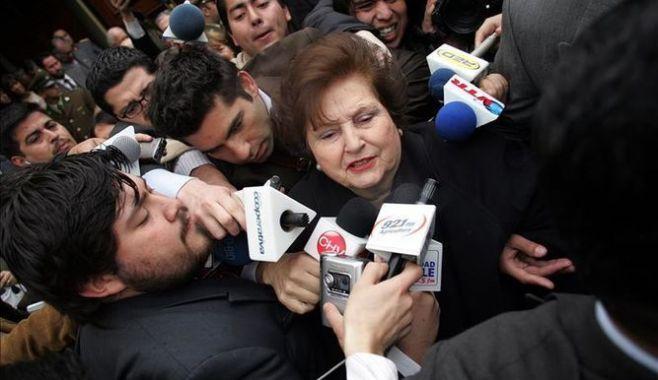 Viuda de Pinochet cobra pensión mensual de 4660 dólares