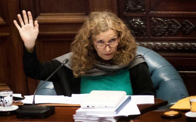Constanza Moreira: comandante se extralimitó en su discurso