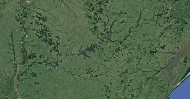 Río Negro. (C) Google Maps