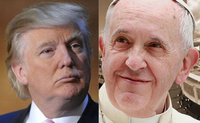 El Papa recibió a Donald Trump