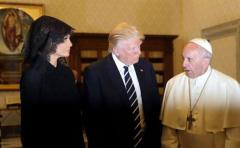 Así fue el encuentro entre Donald Trump y el papa Francisco