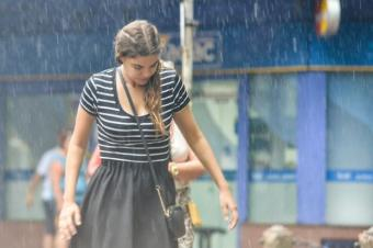 Alerta amarilla en 5 departamentos por lluvias