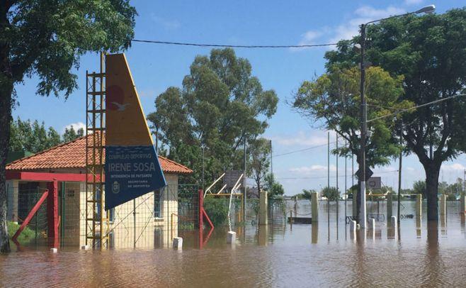 Intensas lluvias en Uruguay dejan 66 desplazados