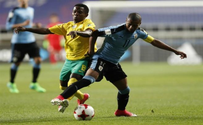 Mira en vivo Uruguay vs Sudáfrica: Mundial Sub 20, hoy sábado