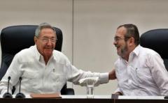Raúl Castro se reunió con Timochenko