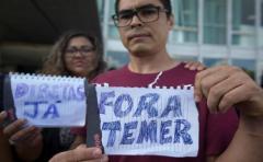 Temer, cada vez más solo en Brasil