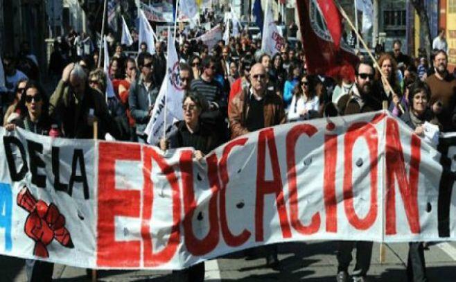 Educación: sindicatos en pie de guerra contra el Gobierno por recursos