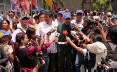 """Capriles denunció """"mano del Gobierno"""" detrás de violencia en marchas"""