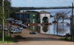Más de 3400 personas fuera de sus hogares en el norte del país por inundaciones