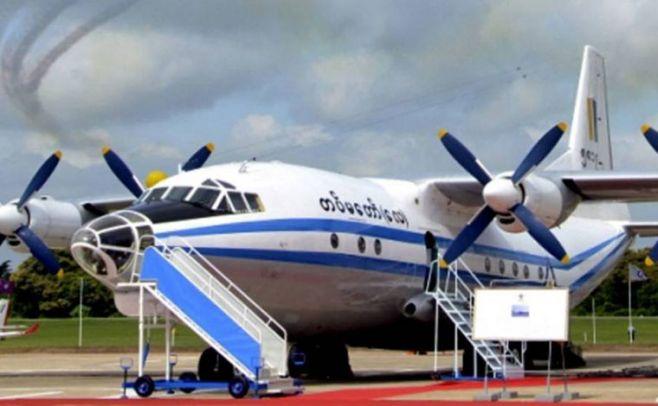 Encuentran restos de avión militar desaparecido en Myanmar