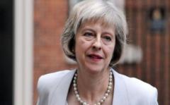 """La canción """"Liar, Liar"""" contra Theresa May, entre las más escuchadas"""