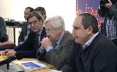 Equipo económico presenta proyecto de Rendición de Cuentas a la bancada oficialista