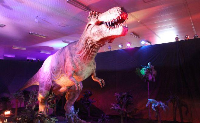 Didáctico y divertido: vuelven los dinosaurios a la Rural del Prado