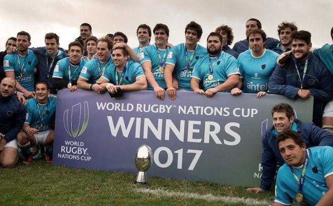 Uruguay logró su primer título World Nations de rugby