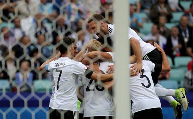 Ganó Alemania y se cerró la primera