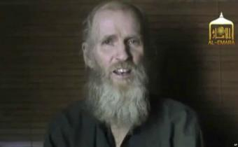 Talibanes emiten video de rehén estadounidense