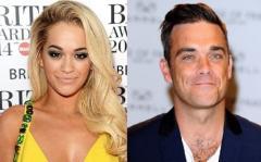 Robbie Williams y Rita Ora en canción benéfica para víctimas del incendio de Londres