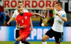 Chile y Alemania con un pie en semifinales