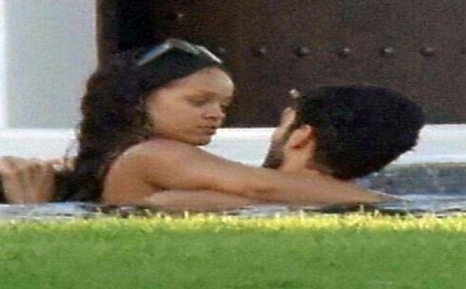 Filtran imágenes de Rihanna con un misterioso millonario