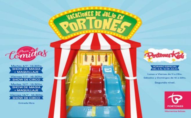 Magia, circo y mucho entretenimiento en Portones