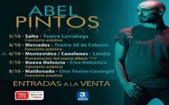 Abel Pintos llega a Uruguay en octubre
