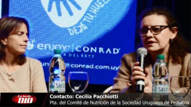 """Cecilia Pacchiotti: """"Hay un aumento de entre 20% y 30% en trastornos de obesidad en menores de 5 años"""""""