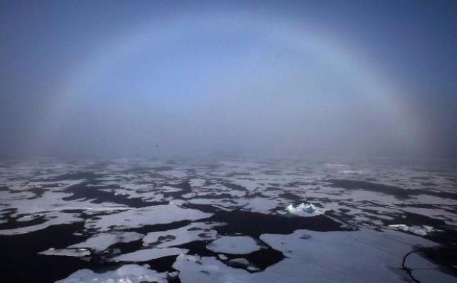 Expertos chinos avisan de una fuerte reducción del hielo marino del Ártico
