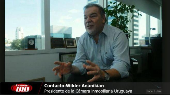 "Wilder Ananikian: ""Hoy funcionan 700 inmobiliarias sin permiso"""