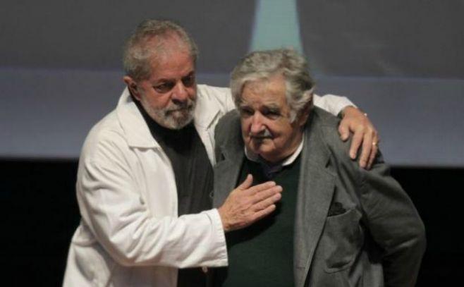"""Mujica dice a Lula que """"la pelea continúa"""" a pesar de jueces y prensa"""