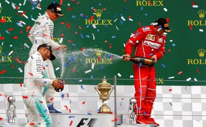 Hamilton gana en Silverstone por cuarto año consecutivo