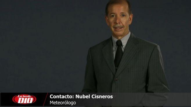 Nubel Cisneros anunció que el frío polar terminará en pocos días