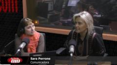 """Sara Perrone: """"Lo que más me atrapa es el magazine�"""
