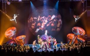 El Circo del Sol revive la pasión de Chile por Soda Stereo