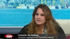 """Sol Kalfaian: """"Hacía falta mostrar la presencia de la mujer desde otro lugar�"""