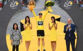 Froome cuatro veces grande del Tour; Groenewegen se lleva el esprint en París