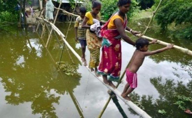 Inundaciones en India dejan más de medio centenar de muertos y 2 millones de afectados
