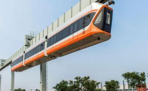 Ponen a prueba al tren colgante más rápido de China