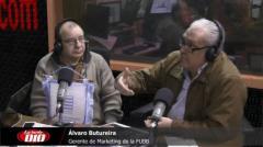 """�lvaro Butureira: """"Si organizamos el Mundial de básquetbol 2023, se jugará en el Antel Arena"""""""