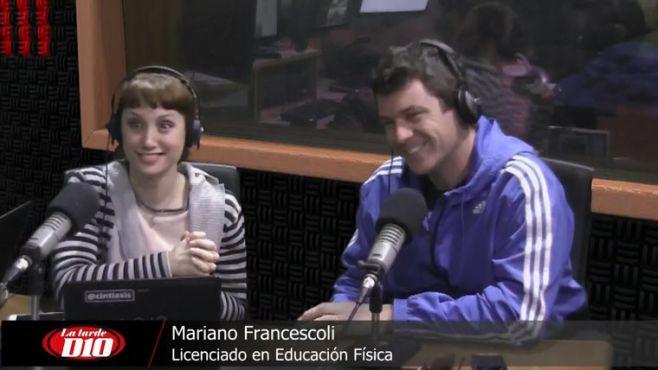 """Mariano Francescoli: """"A los uruguayos les cuesta hacer deporte"""""""