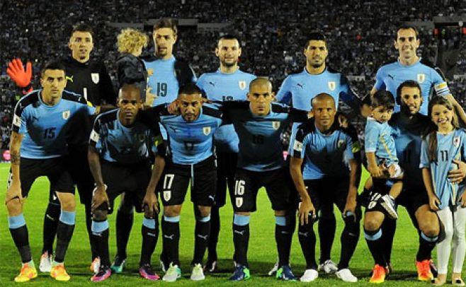 Ilustración. . Twitter Selección Uruguaya