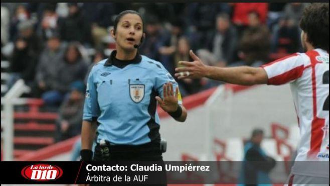 """Claudia Umpiérrez: """"Arbitrar en el Mundial Sub 17 no estaba entre mis objetivos"""""""
