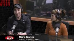"""Nacho Cardozo: """"Lo que más amo es el escenario"""""""