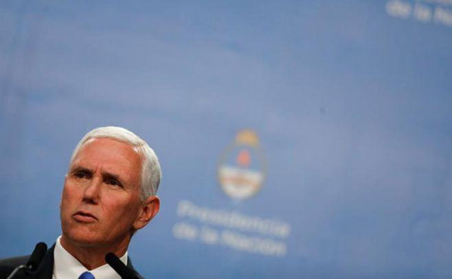 Vicepresidente Pence ofrece apoyo de EUA a España tras atentado
