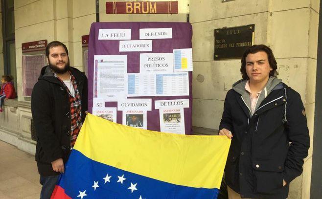 "Estudiantes: postura de FEUU sobre Venezuela es una ""falta de respeto a la memoria de los mártires"""